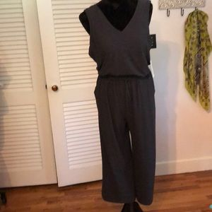 Old Navy Gray Jumpsuit